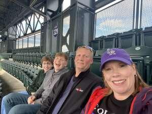 The Metcalfe's attended Colorado Rockies vs. Texas Rangers - MLB on Jun 1st 2021 via VetTix