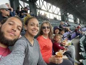 Family fun attended Colorado Rockies vs. Texas Rangers - MLB on Jun 1st 2021 via VetTix