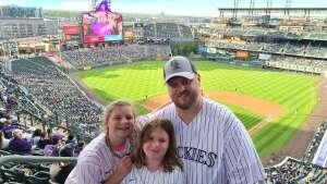 Mike attended Colorado Rockies vs. Texas Rangers - MLB on Jun 1st 2021 via VetTix