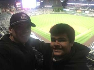 Jonmark attended Colorado Rockies vs. Texas Rangers - MLB on Jun 1st 2021 via VetTix