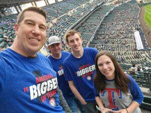 THarding attended Colorado Rockies vs. Texas Rangers - MLB on Jun 1st 2021 via VetTix