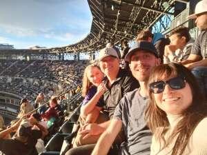 Jenny attended Colorado Rockies vs. Texas Rangers - MLB on Jun 1st 2021 via VetTix