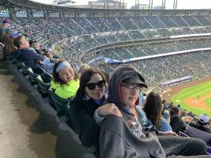 Michael  attended Colorado Rockies vs. Texas Rangers - MLB on Jun 1st 2021 via VetTix
