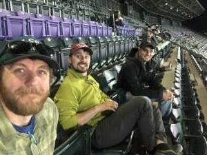 Heck attended Colorado Rockies vs. Texas Rangers - MLB on Jun 1st 2021 via VetTix