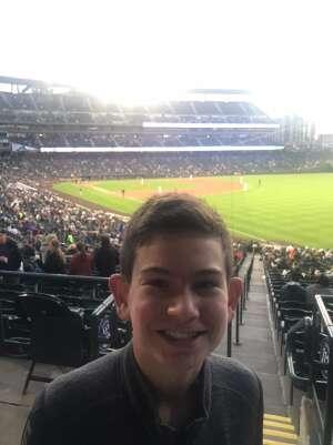 Mark attended Colorado Rockies vs. Texas Rangers - MLB on Jun 1st 2021 via VetTix