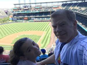 Andrew attended Colorado Rockies vs. Texas Rangers - MLB on Jun 3rd 2021 via VetTix