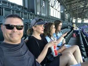 Mike attended Colorado Rockies vs. Texas Rangers - MLB on Jun 3rd 2021 via VetTix