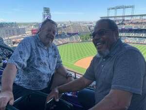 ValR attended Colorado Rockies vs. Texas Rangers - MLB on Jun 3rd 2021 via VetTix