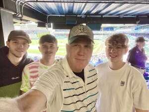Randy attended Colorado Rockies vs. Texas Rangers - MLB on Jun 3rd 2021 via VetTix