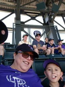 Young fan attended Colorado Rockies vs. Texas Rangers - MLB on Jun 3rd 2021 via VetTix