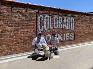 Denise N attended Colorado Rockies vs. Texas Rangers - MLB on Jun 3rd 2021 via VetTix