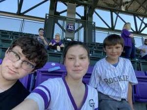 Timothy attended Colorado Rockies vs. Texas Rangers - MLB on Jun 3rd 2021 via VetTix