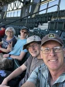 Marc attended Colorado Rockies vs. Texas Rangers - MLB on Jun 3rd 2021 via VetTix