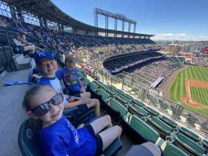 Neal Peterson attended Colorado Rockies vs. Texas Rangers - MLB on Jun 3rd 2021 via VetTix