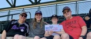 Michael Skoglund attended Colorado Rockies vs. Texas Rangers - MLB on Jun 3rd 2021 via VetTix