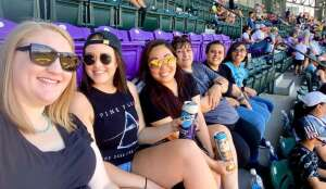Sona attended Colorado Rockies vs. Texas Rangers - MLB on Jun 3rd 2021 via VetTix