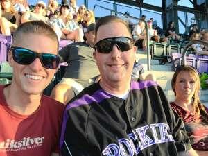 CO fan attended Colorado Rockies vs. Oakland Athletics - MLB on Jun 4th 2021 via VetTix