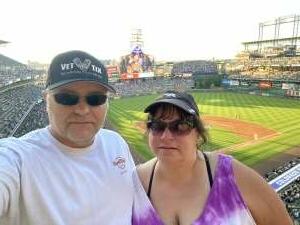 Bill attended Colorado Rockies vs. Oakland Athletics - MLB on Jun 4th 2021 via VetTix