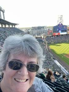 Marissa E attended Colorado Rockies vs. Oakland Athletics - MLB on Jun 4th 2021 via VetTix