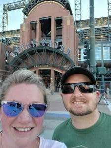 J. Becker attended Colorado Rockies vs. Oakland Athletics - MLB on Jun 4th 2021 via VetTix