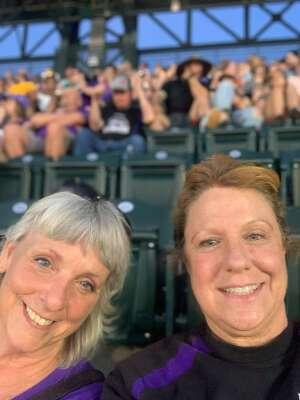 Nicole C attended Colorado Rockies vs. Oakland Athletics - MLB on Jun 4th 2021 via VetTix