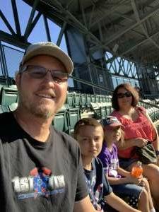 Larry attended Colorado Rockies vs. Oakland Athletics - MLB on Jun 4th 2021 via VetTix