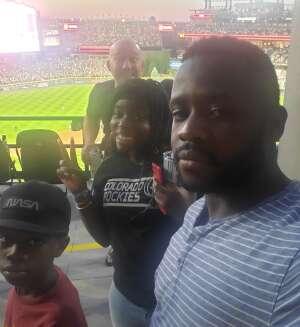 Damion attended Colorado Rockies vs. Oakland Athletics - MLB on Jun 4th 2021 via VetTix