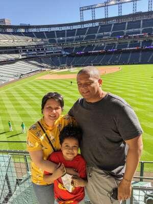 Red King attended Colorado Rockies vs. Oakland Athletics - MLB on Jun 4th 2021 via VetTix