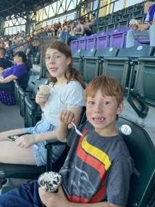 Robert F attended Colorado Rockies vs. Oakland Athletics - MLB on Jun 4th 2021 via VetTix