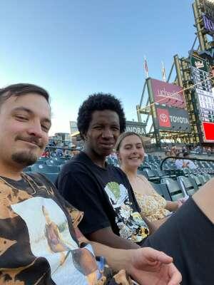 Brett attended Colorado Rockies vs. Oakland Athletics - MLB on Jun 4th 2021 via VetTix