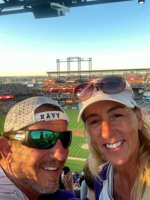 Dean attended Colorado Rockies vs. Oakland Athletics - MLB on Jun 4th 2021 via VetTix