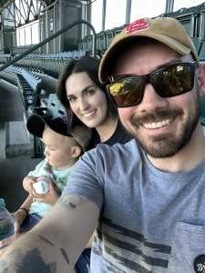 Kheckman attended Colorado Rockies vs. Oakland Athletics - MLB on Jun 4th 2021 via VetTix