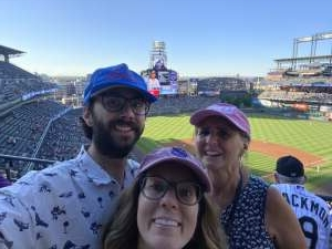 JW attended Colorado Rockies vs. Oakland Athletics - MLB on Jun 4th 2021 via VetTix