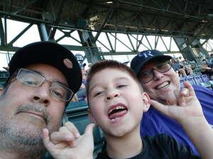 Rockies young fan attended Colorado Rockies vs. Oakland Athletics - MLB on Jun 4th 2021 via VetTix