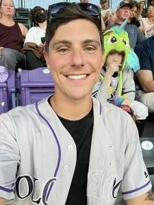 Justin attended Colorado Rockies vs. Oakland Athletics - MLB on Jun 4th 2021 via VetTix