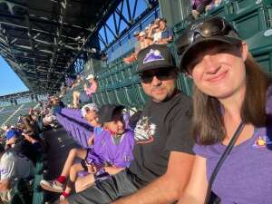 CO Vet attended Colorado Rockies vs. Oakland Athletics - MLB on Jun 4th 2021 via VetTix