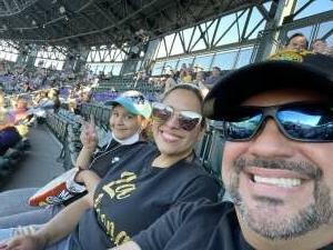 Luis attended Colorado Rockies vs. Oakland Athletics - MLB on Jun 4th 2021 via VetTix