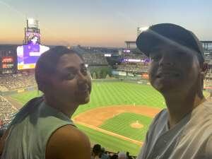 Kyle attended Colorado Rockies vs. Oakland Athletics - MLB on Jun 4th 2021 via VetTix