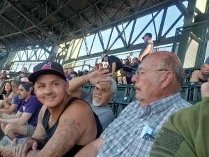 . attended Colorado Rockies vs. Oakland Athletics - MLB on Jun 4th 2021 via VetTix