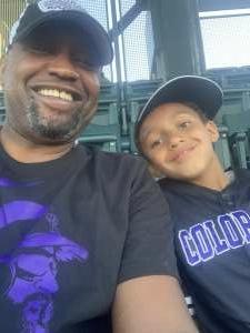 Vince attended Colorado Rockies vs. Oakland Athletics - MLB on Jun 4th 2021 via VetTix