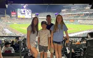 Mike attended Colorado Rockies vs. Oakland Athletics - MLB on Jun 4th 2021 via VetTix