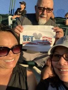 Jimmy M. attended Colorado Rockies vs. Oakland Athletics - MLB on Jun 4th 2021 via VetTix
