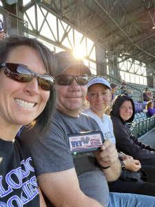 FG attended Colorado Rockies vs. Oakland Athletics - MLB on Jun 4th 2021 via VetTix