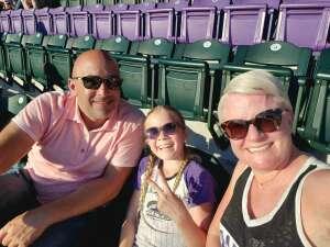 Jami S attended Colorado Rockies vs. Oakland Athletics - MLB on Jun 4th 2021 via VetTix