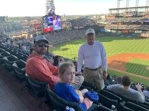 Ron attended Colorado Rockies vs. Oakland Athletics - MLB on Jun 4th 2021 via VetTix