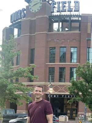 Josh attended Colorado Rockies vs. Oakland Athletics - MLB on Jun 4th 2021 via VetTix