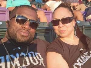 Melissa attended Colorado Rockies vs. Oakland Athletics - MLB on Jun 4th 2021 via VetTix