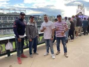 George  attended Colorado Rockies vs. Oakland Athletics - MLB on Jun 4th 2021 via VetTix