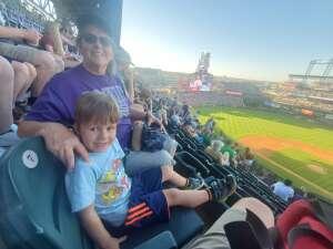 Suzy attended Colorado Rockies vs. Oakland Athletics - MLB on Jun 4th 2021 via VetTix