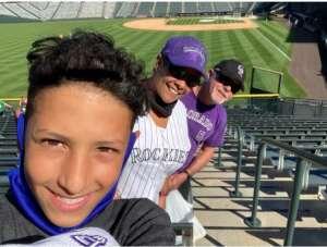 H. attended Colorado Rockies vs. Oakland Athletics - MLB on Jun 4th 2021 via VetTix